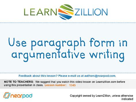 conclude a persuasive essay