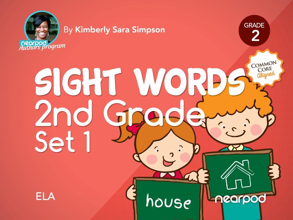 sight words 2nd grade