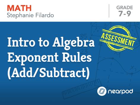 Intro to Algebra: Solving 2-Step Equations