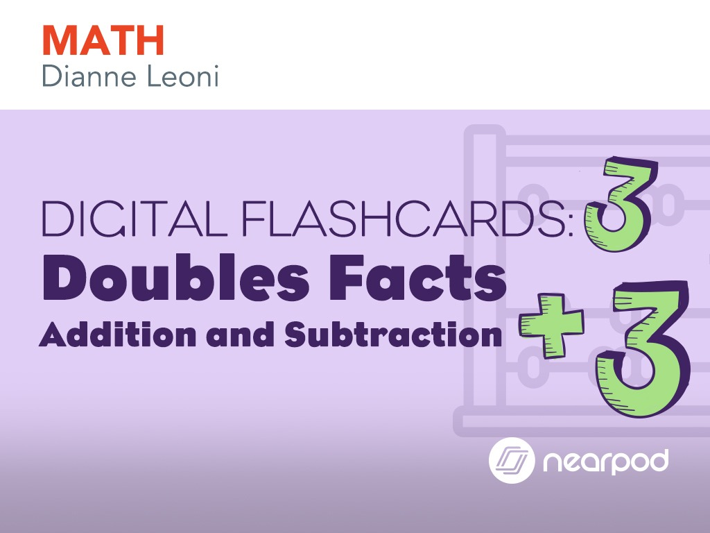 worksheet Addition Doubles flashcards doubles facts digital facts