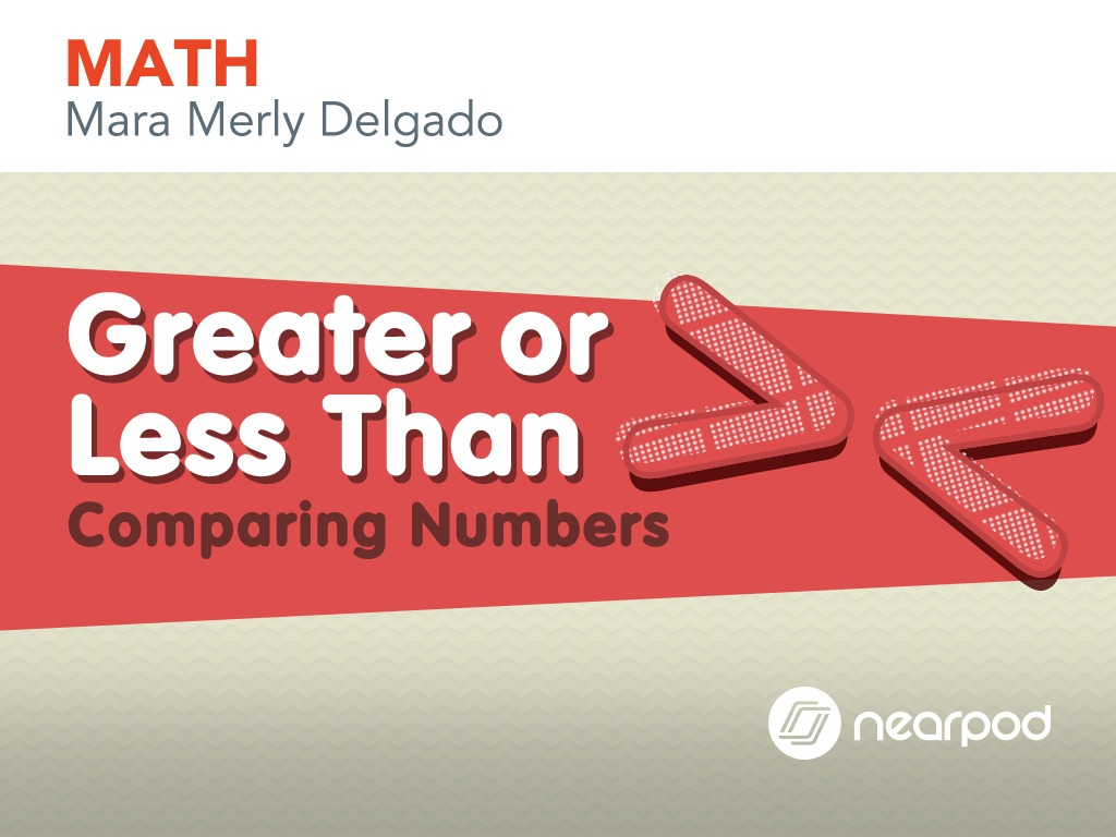 Greater Or Less Than Comparing Numbers