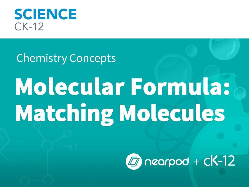 Molecular Formula Matching Molecules Electric Circuits Ck12 Foundation