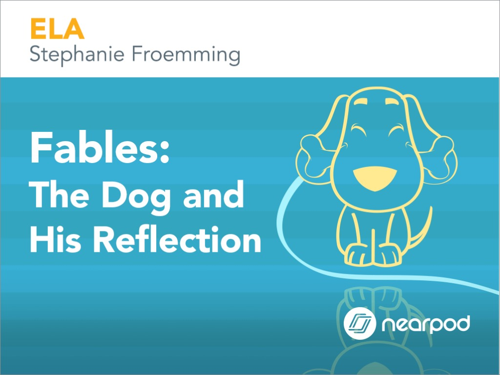 A List Of Fables And Their Morals fables: the dog and his reflection