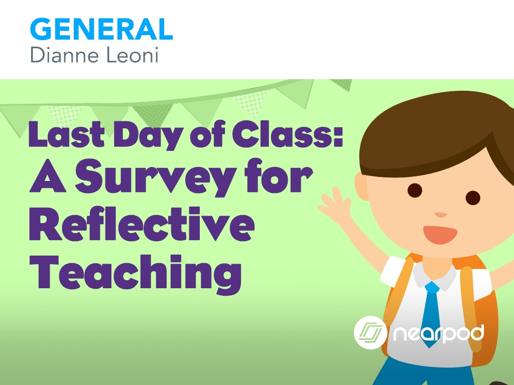 Last Day of Class: A Survey for Grades K-5