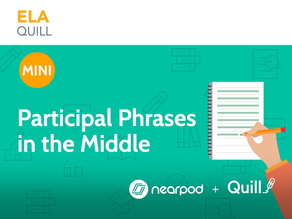 Participial Phrases in the Middle