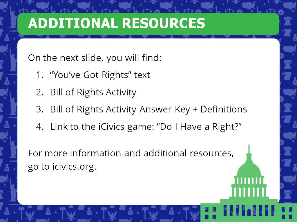 We Got This Icivics Answer Key - You Ve Got Rights Icivics ...