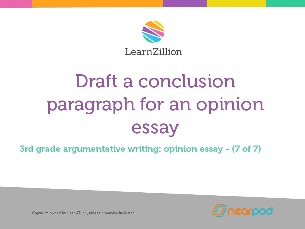 how to make a conclusion paragraph for an essay