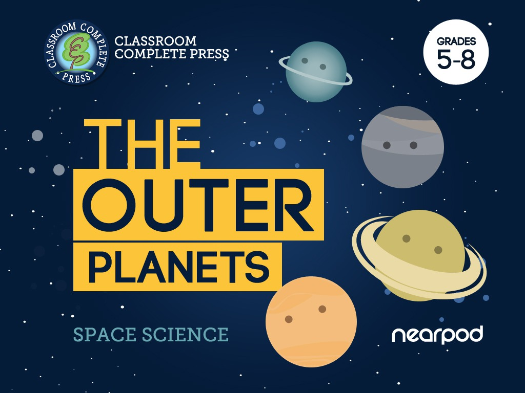 The Solar System - The Outer Planets