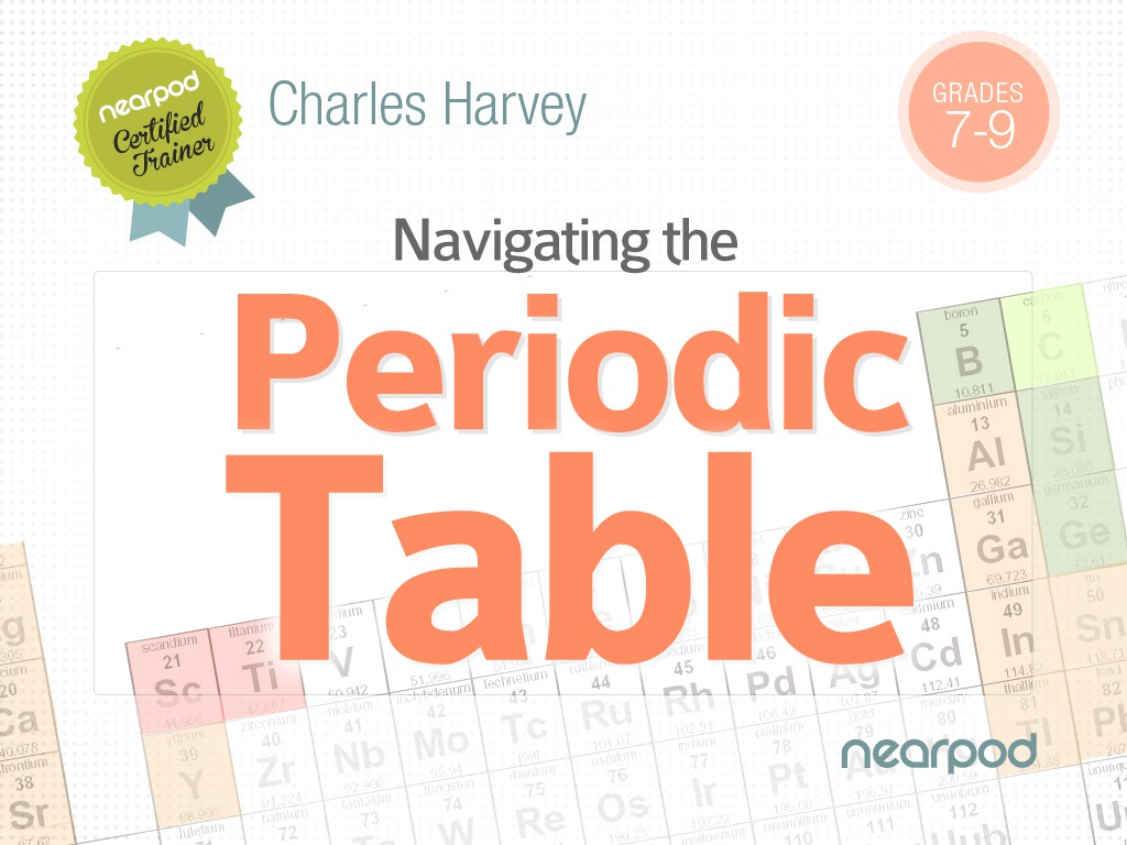 Introduction To Navigating The Periodic Table